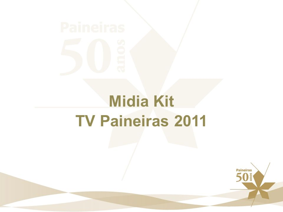 Midia Kit TV Paineiras 2011