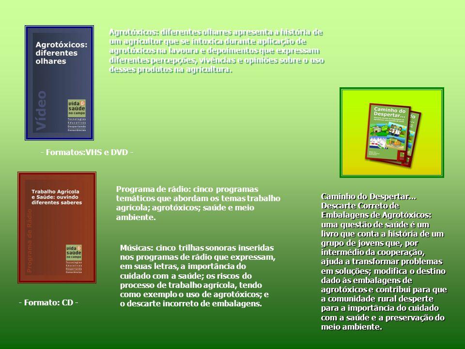 SITE Vida e Saúde no Campo www.ensp.fiocruz.br/saudenocampo/ Obs: O acesso estará disponível a partir de outubro de 2008