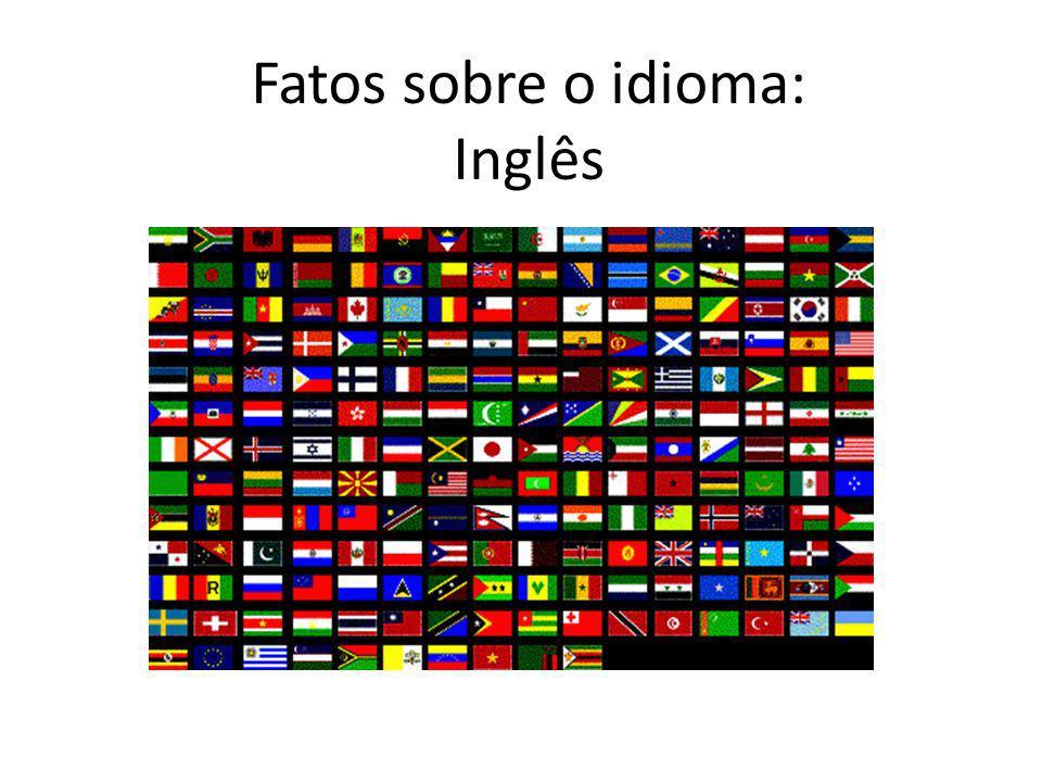 Fatos sobre o idioma: Inglês