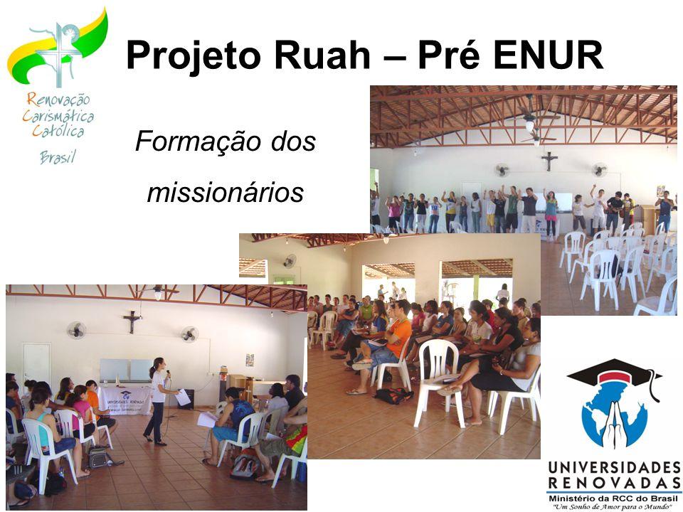 Missa de envio dos missionários