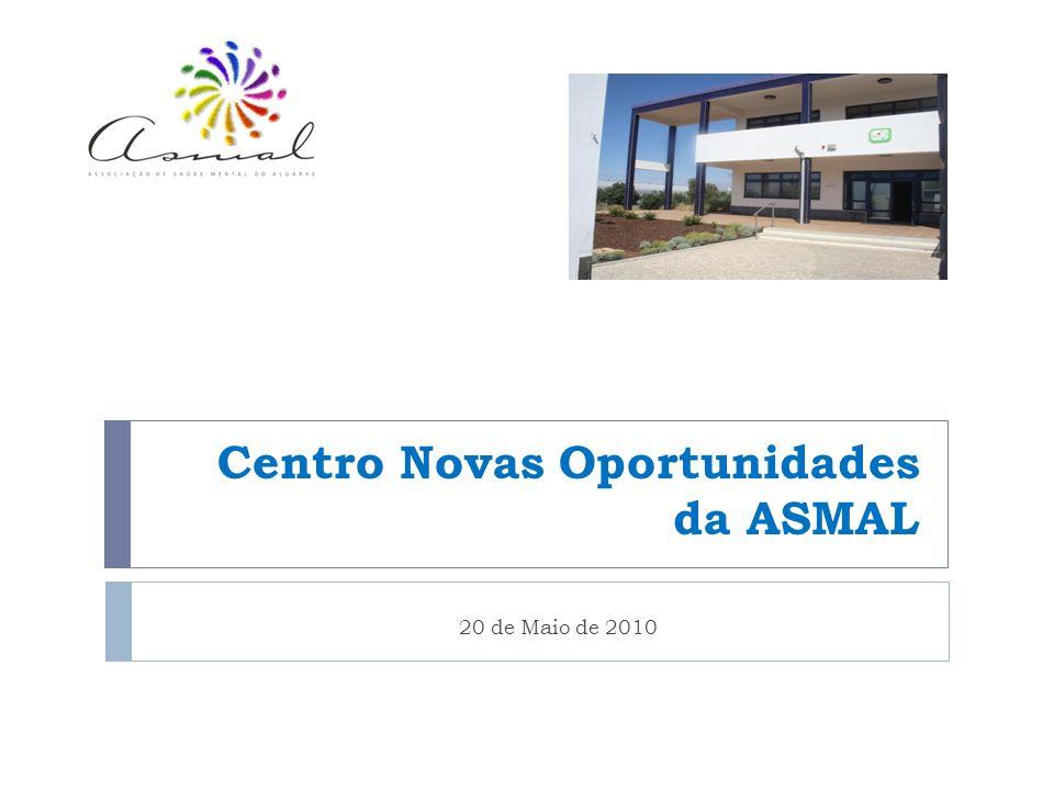 Centro Novas Oportunidades da ASMAL 20 de Maio de 2010