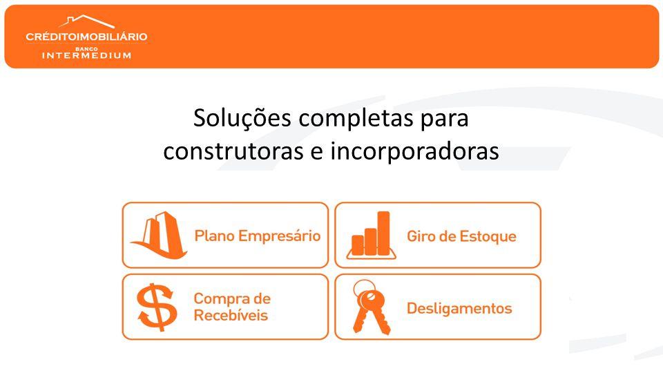Soluções completas para construtoras e incorporadoras