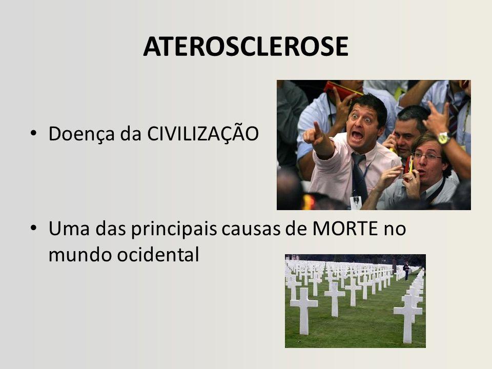 ARTERIOSCLEROSE • ARTERIOSCLEROSE (Lobstein, 1829): doença que provoca espessamento da parede arterial com perda da sua elasticidade.