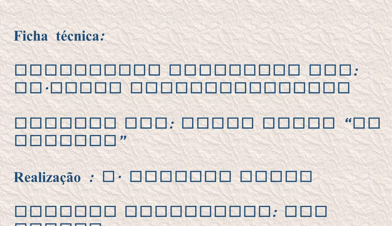 """Ficha técnica : Eucaristia Celebrada por : Fr. Jacob Puthiyaparampil Animada por : Grupo Coral """" No Momento """" Realização : A. Alberto Sousa Imagens re"""