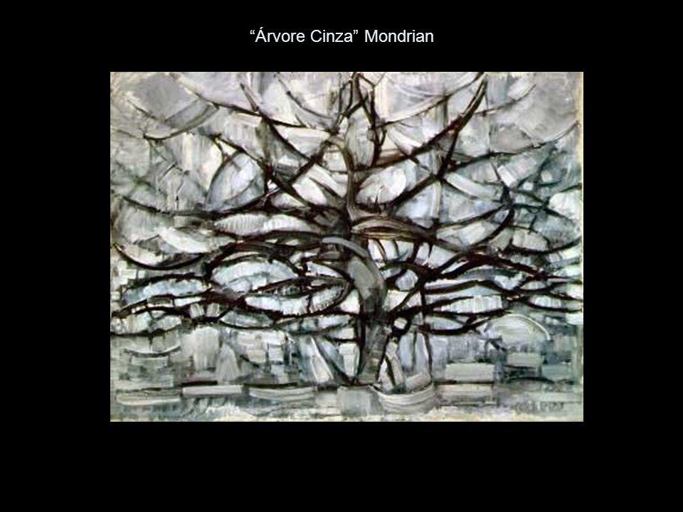 Árvore Cinza Mondrian