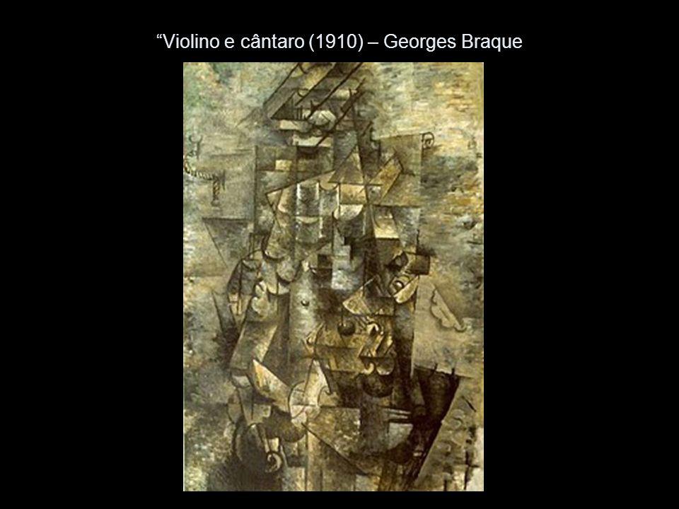 Violino e cântaro (1910) – Georges Braque