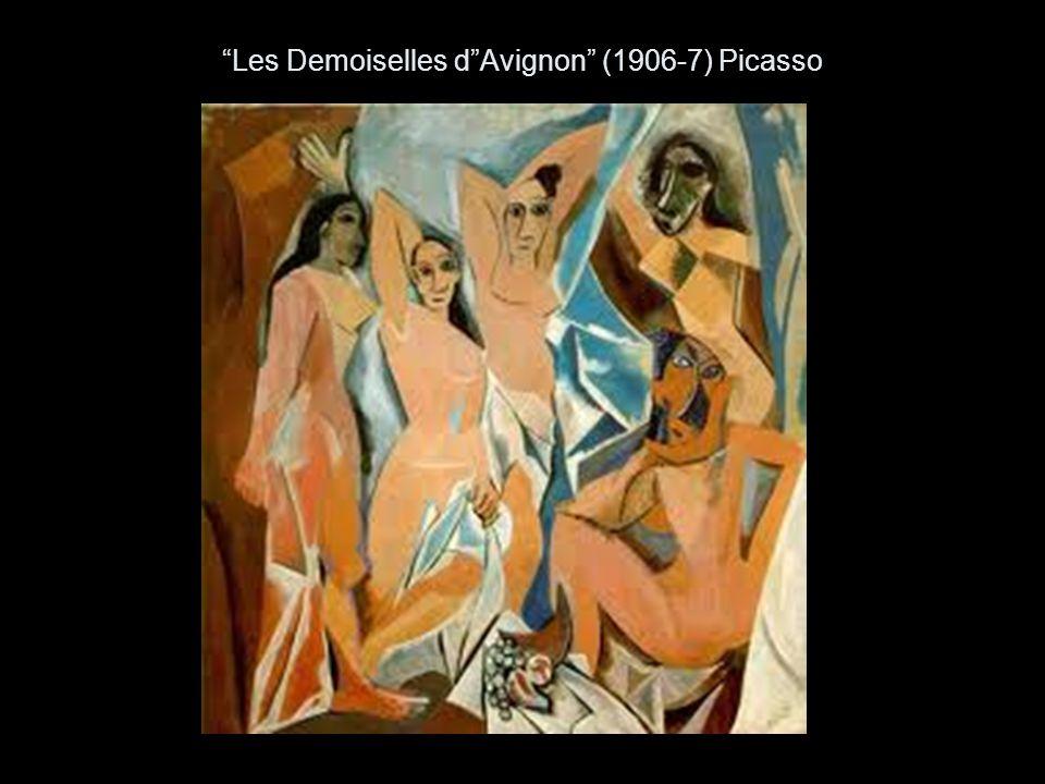 Les Demoiselles d Avignon (1906-7) Picasso