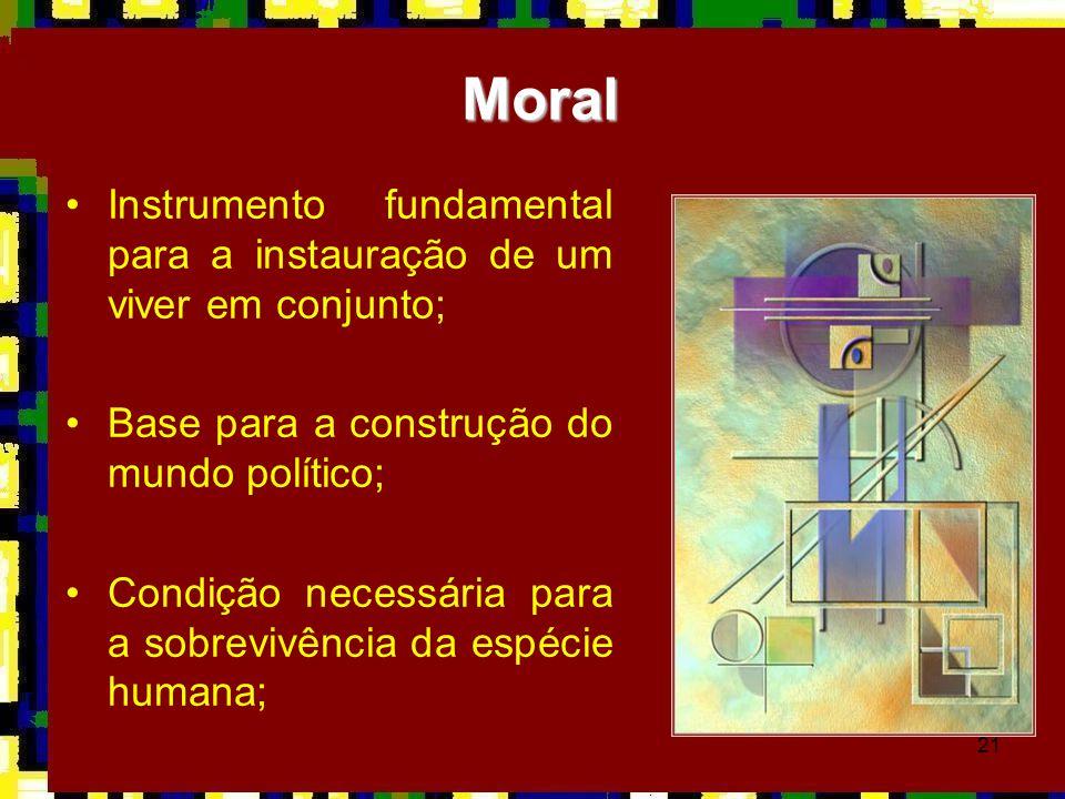 21 •Instrumento fundamental para a instauração de um viver em conjunto; •Base para a construção do mundo político; •Condição necessária para a sobrevi