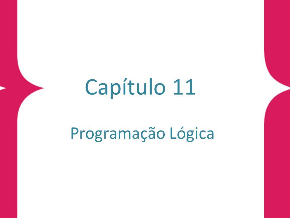 Sintaxe da Programação Lógica Definição 11.1 (cláusula de programa) Uma cláusula de programa, na Lógica de Predicados, é uma cláusula do tipo C =( ∀ x 1 )...