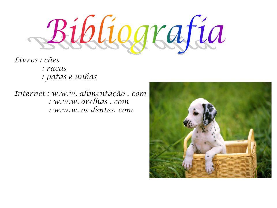 Livros : cães : raças : patas e unhas Internet : w.w.w.