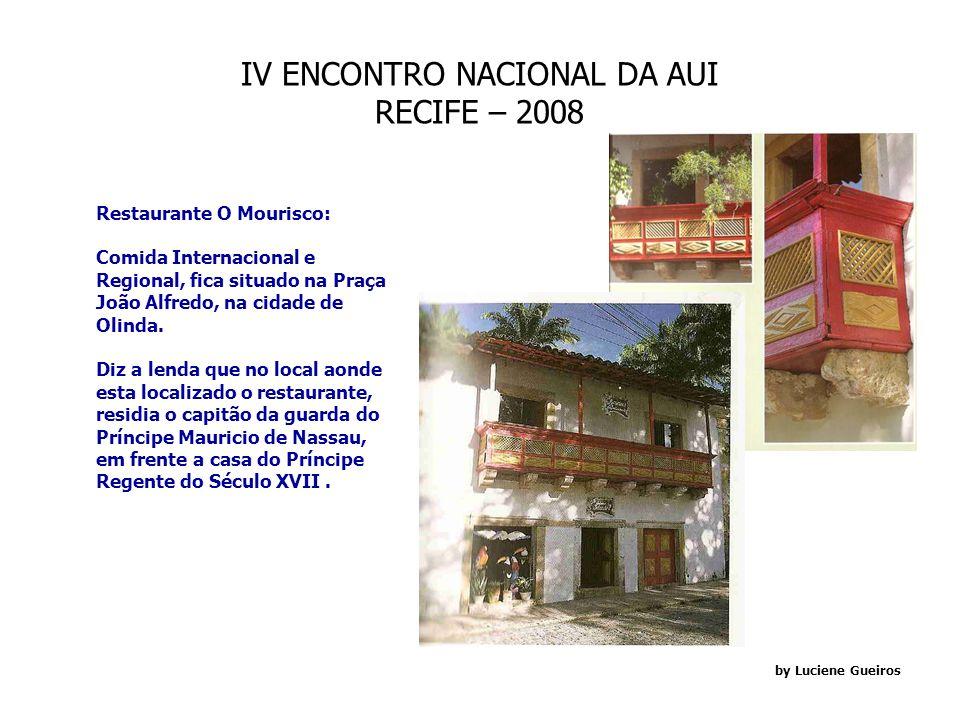 IV ENCONTRO NACIONAL DA AUI RECIFE – 2008 by Luciene Gueiros -Porto Digital: Definido como o Arranjo Produtivo de Tecnologia da Informação e Comunicaç