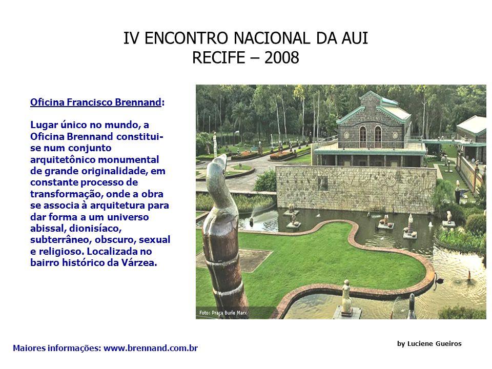 IV ENCONTRO NACIONAL DA AUI RECIFE – 2008 by Luciene Gueiros Restaurante O Mourisco: Comida Internacional e Regional, fica situado na Praça João Alfredo, na cidade de Olinda.