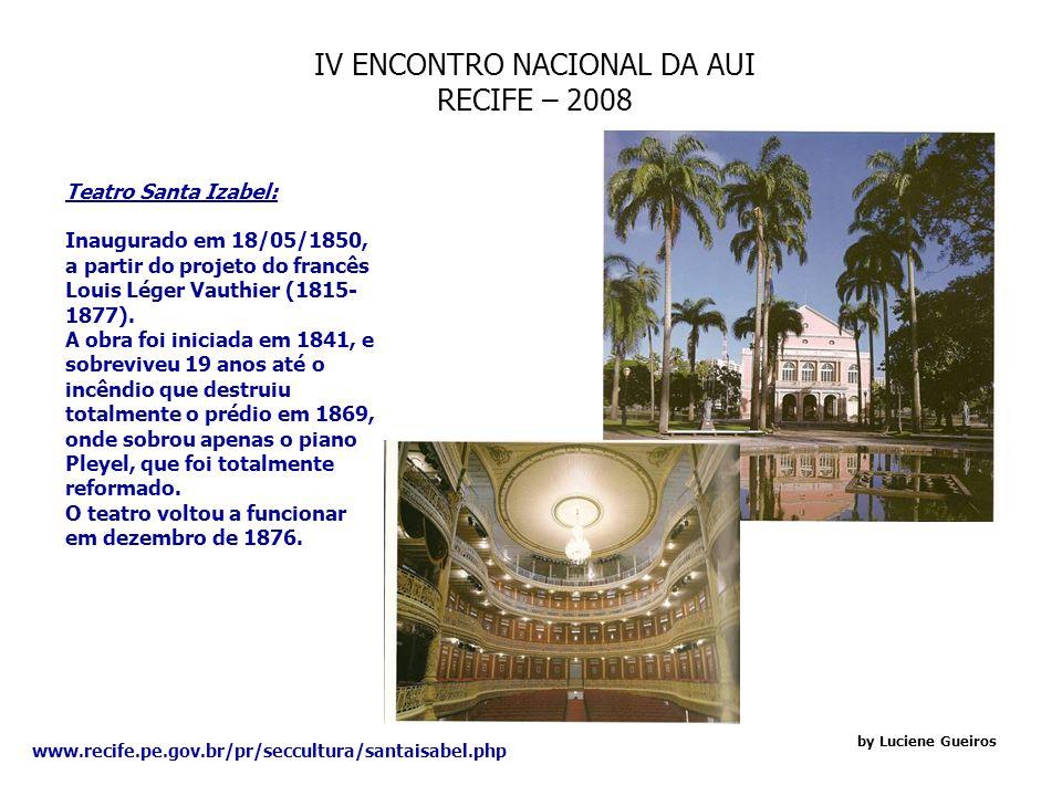 IV ENCONTRO NACIONAL DA AUI RECIFE – 2008 by Luciene Gueiros Espaço Querubins: O Espaço Querubins fica localizado no bairro da Cidade Universitária, tem capacidade para receber eventos de até 300 convidados.