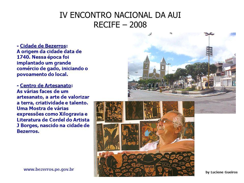 IV ENCONTRO NACIONAL DA AUI RECIFE – 2008 by Luciene Gueiros Restaurante Assucar: É um regional com roupagem mais Cosmopolita.