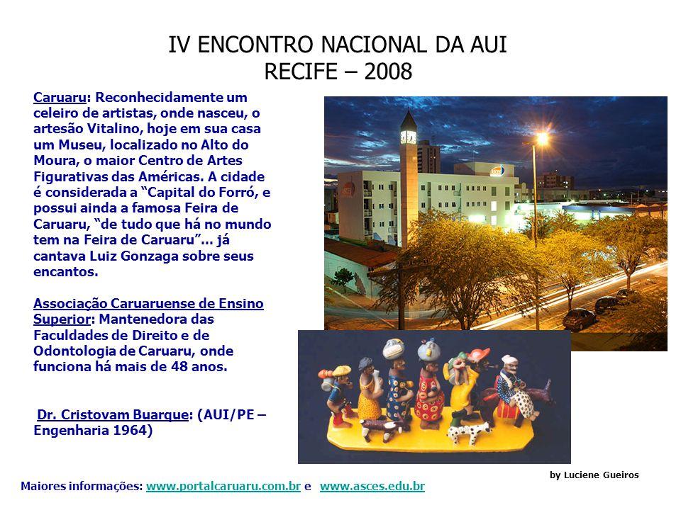 IV ENCONTRO NACIONAL DA AUI RECIFE – 2008 by Luciene Gueiros - Cidade de Bezerros: A origem da cidade data de 1740.