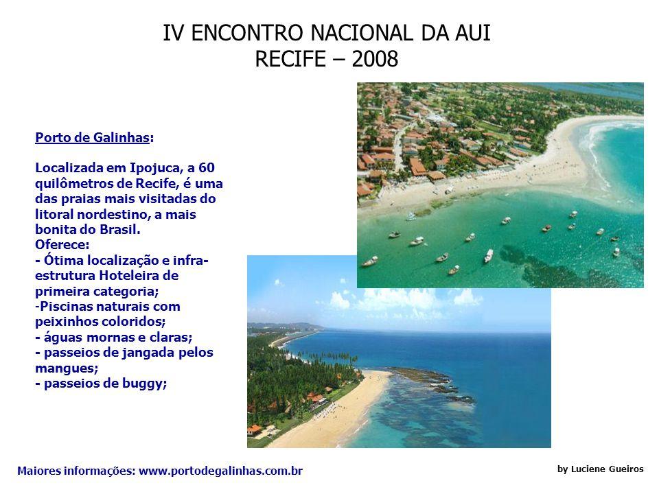 IV ENCONTRO NACIONAL DA AUI RECIFE – 2008 by Luciene Gueiros Bloco da Saudade: Criado a partir de uma canção do célebre compositor de frevos pernambuc