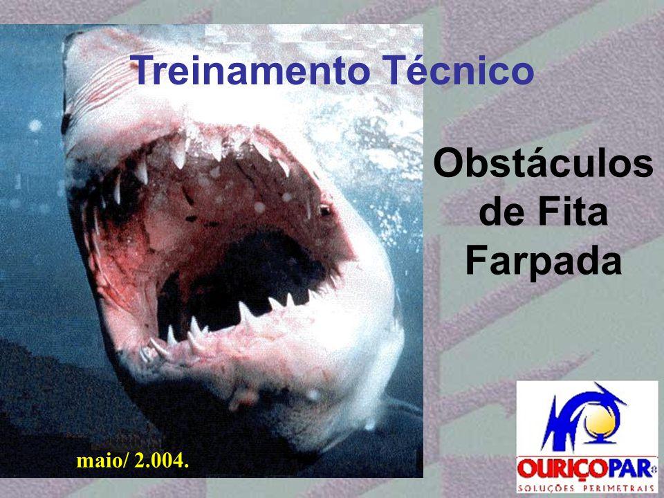 Treinamento Técnico maio/ 2.004. Obstáculos de Fita Farpada