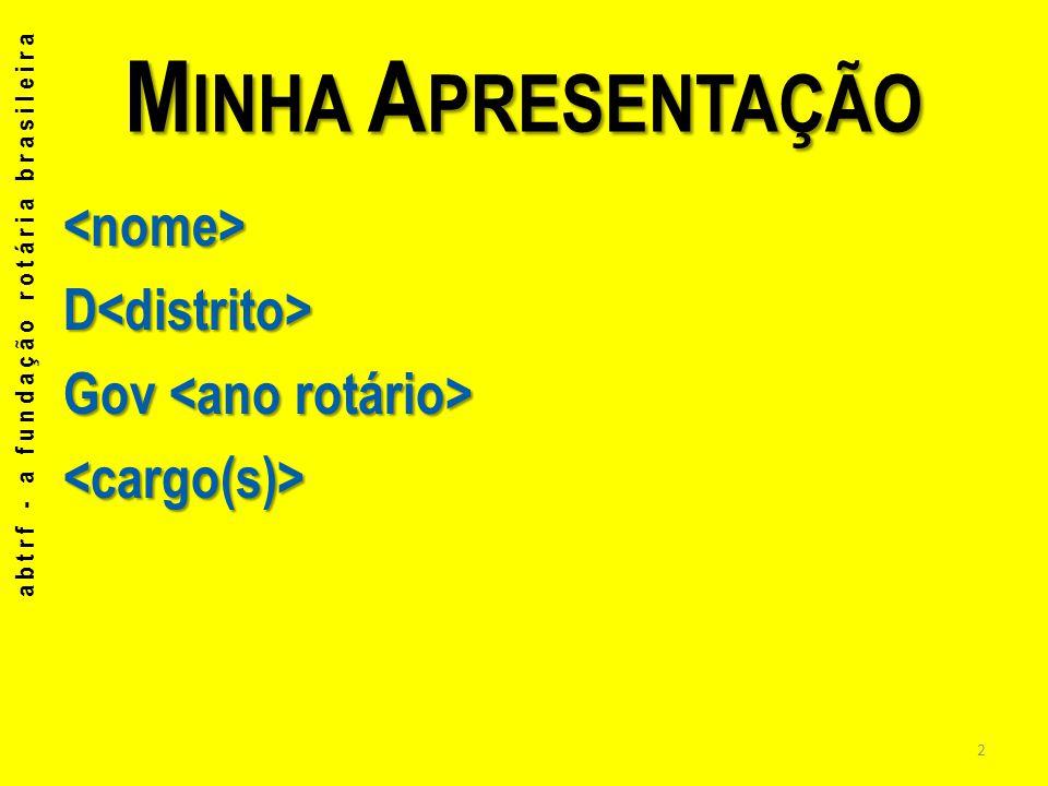 Para que serve para estabelecer parcerias com EMPRESAS abtrf - a fundação rotária brasileira 3