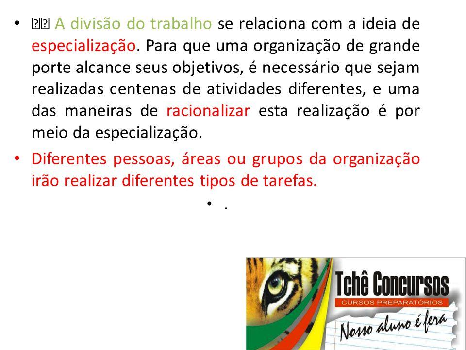 • Delegação • Outro conceito relacionado com autoridade é a delegação.