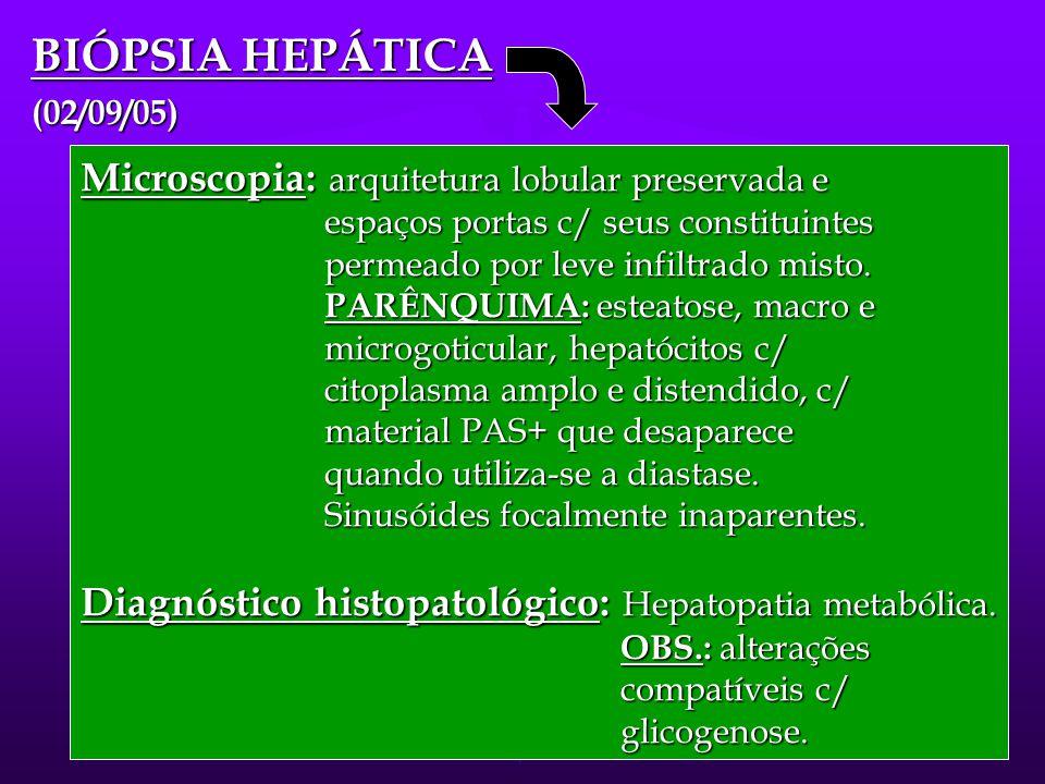 GLICOGENOSE TIPO XI  Laboratório: glicosúria, aminoacidúria, perda de bicarbonato, hipofosfatemia, ↑ de FA sérica. Hipoglicemia e hiperlipidemia. Ami