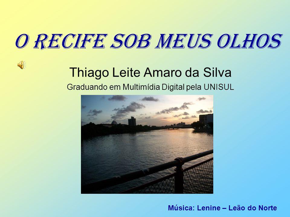 A CIDADE RESPIRA ARTE Não é a toa que Recife cresce culturalmente cada dia.