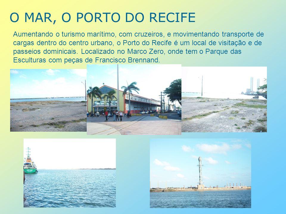O BAIRRO DO RECIFE ANTIGO O Recife antigo é o palco de grandes shows, reduto de tribos, tornando-se um gueto na noite recifense.