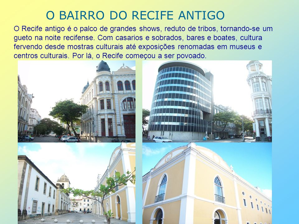 RECIFE DE PRAÇAS E PARQUES O Recife possui muitas praças, que encantam, dão sombra para um breve descanso e fazem a alegria das crianças.