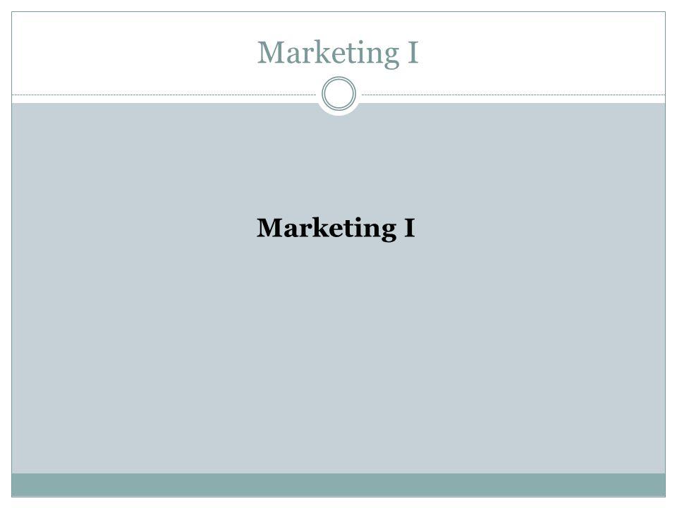 Relacionamento com clientes:  Informações e previsão de demanda Marketing I