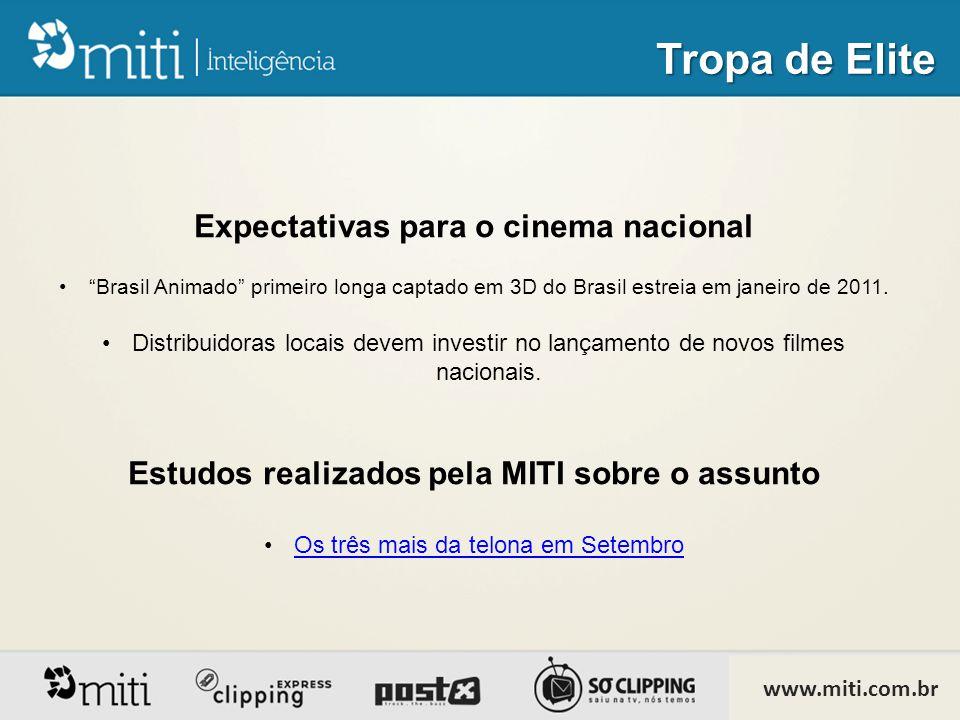 Expectativas para o cinema nacional • Brasil Animado primeiro longa captado em 3D do Brasil estreia em janeiro de 2011.