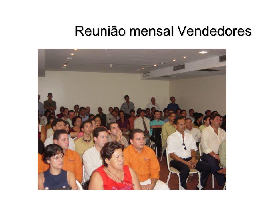 Reunião mensal Vendedores Reunião mensal Vendedores