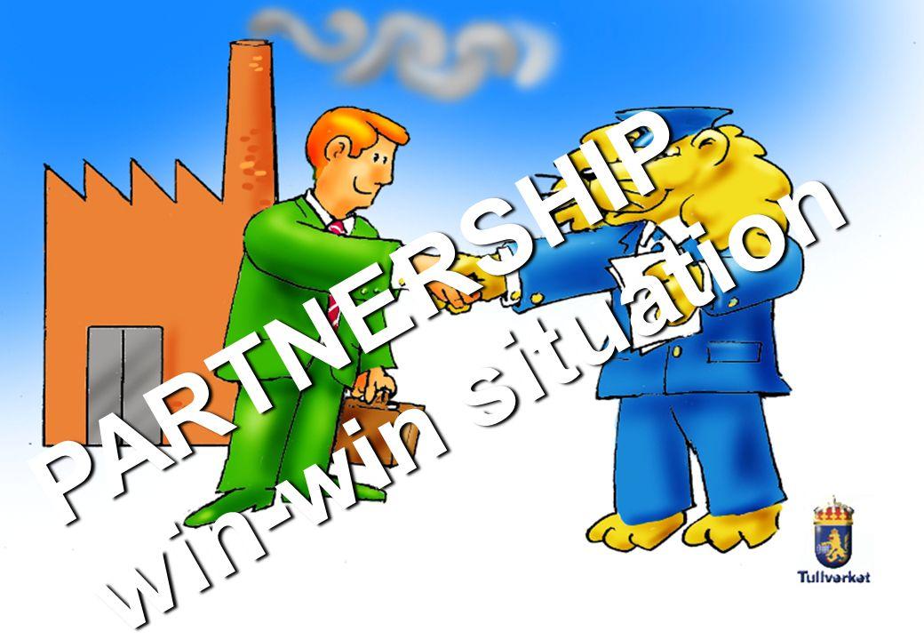 PARTNERSHIP win-win situation