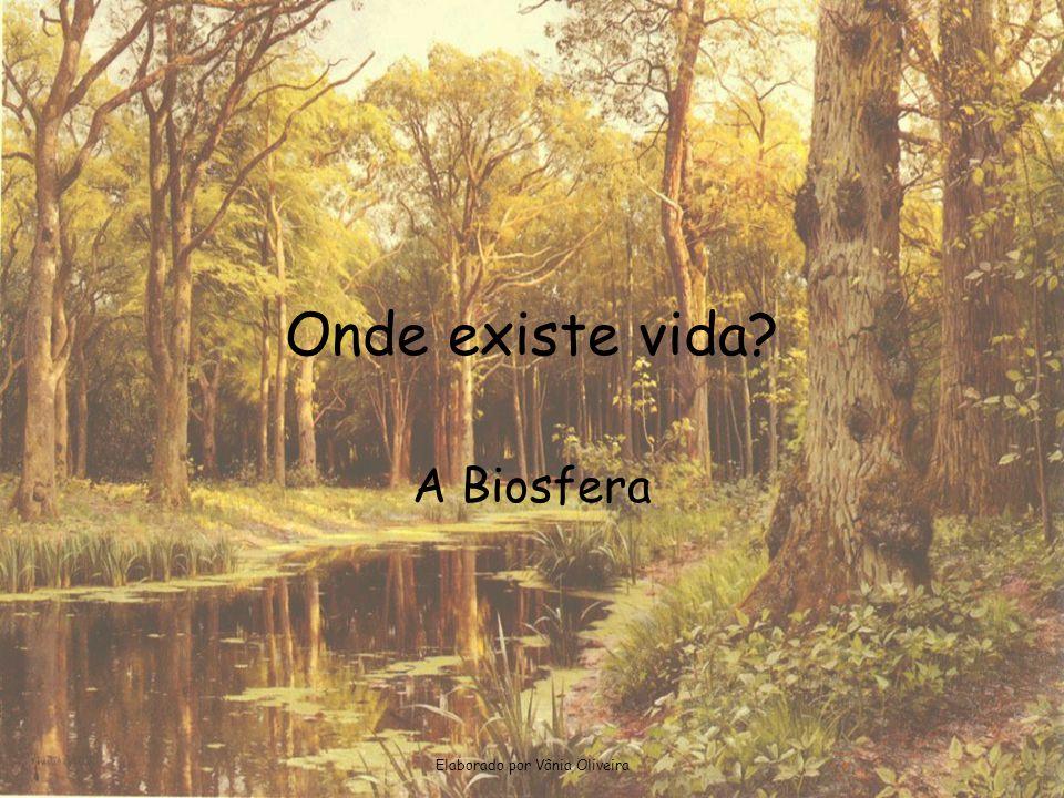 Elaborado por Vânia Oliveira Onde existe vida? A Biosfera