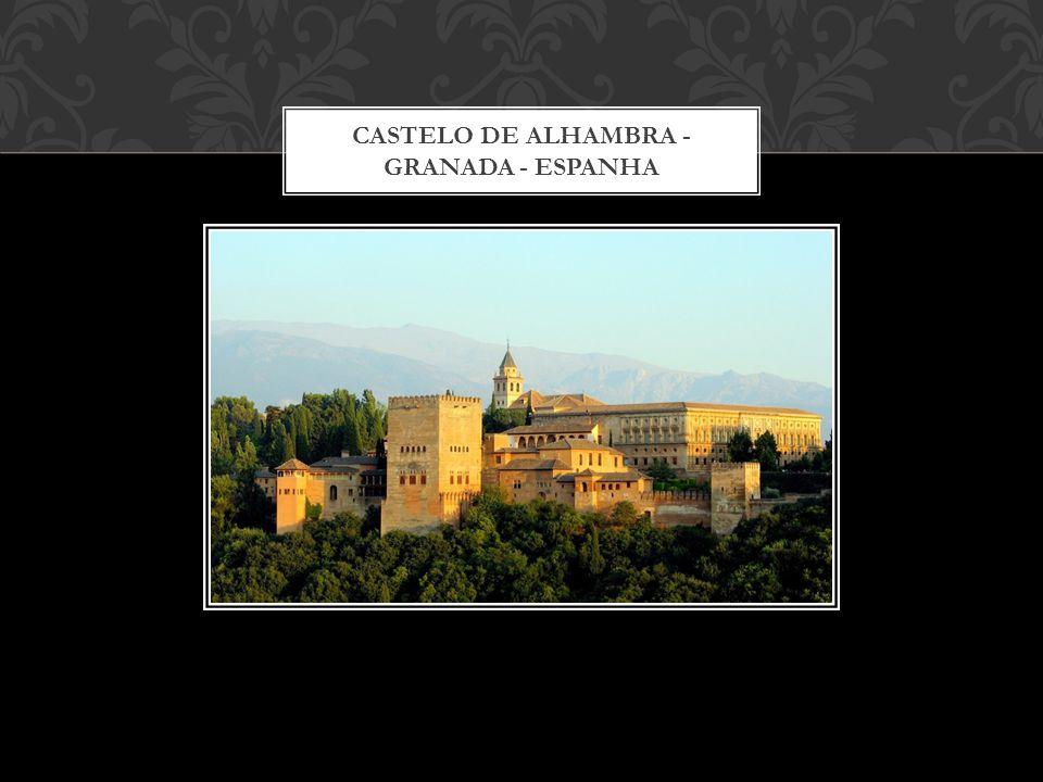 CASTELO DE ALHAMBRA - GRANADA - ESPANHA