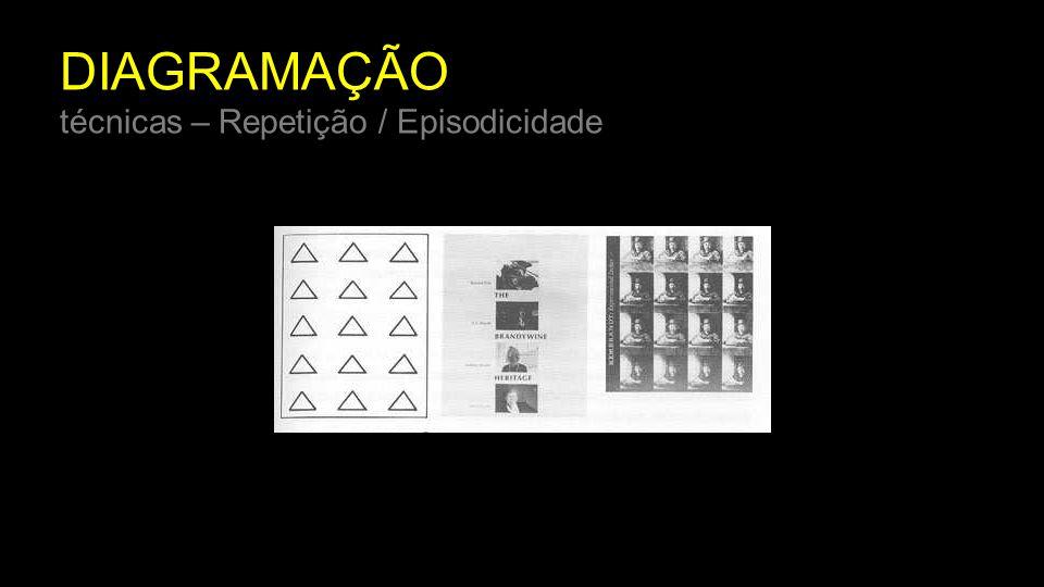 DIAGRAMAÇÃO técnicas – Repetição / Episodicidade