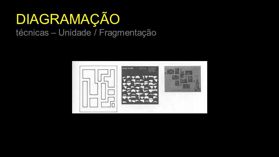 DIAGRAMAÇÃO técnicas – Unidade / Fragmentação