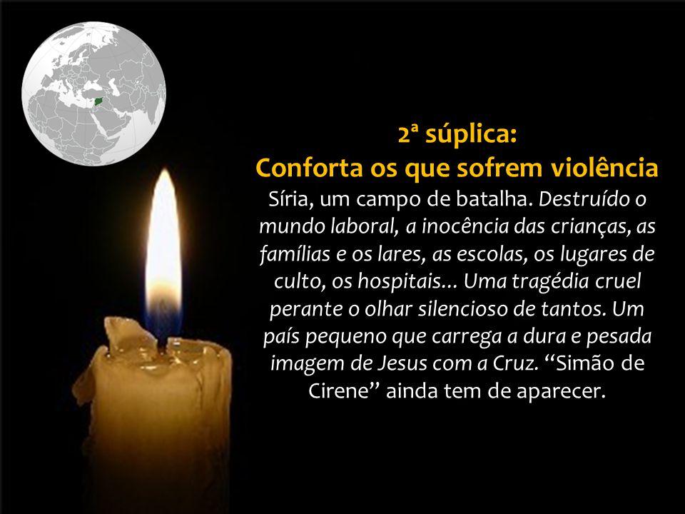 Por todos aqueles que sofrem por causa deste conflito bélico.