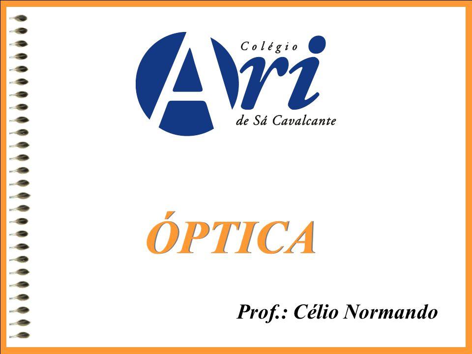 Prof.: Célio Normando ÓPTICA