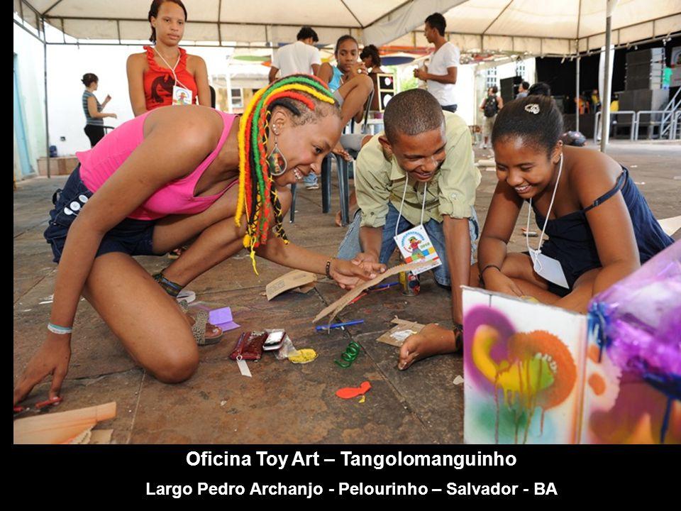 Oficina DJ – Tangolomanguinho Largo Pedro Archanjo - Pelourinho – Salvador - BA