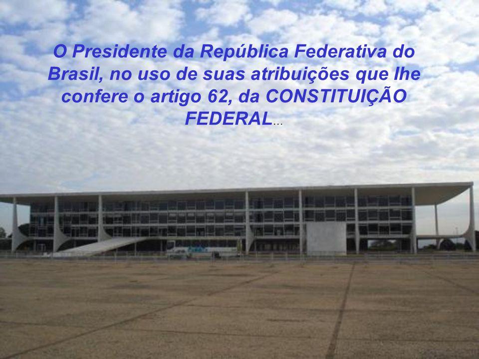 CONSTITUIÇÃO FEDERAL DIÁRIO OFICIAL - BRASILIA - DF Emenda de alteração da CONSTITUIÇÃO FEDERAL, visando um relacionamento mais humano, evoluído e mod