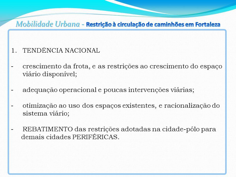 Brasil: População e Frota de veículos por tipo - 2000 a 2012 F R O T A TAXA MOTORIZAÇÃO (hab/veíc)TAXA MOTORIZAÇÃO (veíc/hab) ANOS população (hab) TOTALAUTOMÓVELBONDE ÔNIBUS + MICRO ÔNIBUS CAMINHÃO CAMINHONETE +CAMIONETA UTILITÁRIO MOTOCICLETA +MOTONETA+ CICLOMOTOR CAMINHÃO TRATOR+ REBOQUE+SEMI- REBOQUE+ SIDE- CAR (1) OUTROS AN OS TOTALAUTOMÓVELTOTALAUTOMÓVEL 2000169872856297229501997269034838546113972473125766449403365978316824162 ´´2 00 0 5,78,50,170,12 20011724929753191300321236011333414216145646433189383389461060584834524702 ´´2 00 1 5,38,00,190,13 20021751535073552363323036041291451737154419036226396662580561099110065363 ´´2 00 2 4,87,40,210,14 2003177855074366585012366903223846669415724443670707253416220156100996223927 ´´2 00 3 4,67,20,220,14 2004180598311392408752493645122749397316365353880536367597121696111022024478 ´´2 00 4 4,36,80,230,15 2005183383859420719612630925622251963317037154116390526068153069119178325287 ´´2 00 5 4,06,50,250,15 2006183144554453726402786856421655197617682214364626741589444037127441026432 ´´2 00 6 3,76,10,270,16 200718519496749644025298516102105901521847225467710011152411154985138354127678 ´´2 00 7 3,45,70,290,18 200818714036554506661320546841806331221939276507359716969113079701152279833612 ´´2 00 8 3,15,30,320,19 200918898382659361642345366671376730842026269553937221641514688678164388937131 ´´2 00 9 2,94,90,350,20 201019073269464817974371883411267226822143467614473326921716490178181535243878 ´´2 01 0 2,64,60,380,22 20111923908687054353539832919937833582274947682932634074718427421200326251462 ´´2 01 1 2,44,30,420,23 20121939636967613719142682111628337422380780752708340768520061656218551258560 ´´2 01 2 2,24,00,450,25 evolução 2000 a 2012 14% 156%114%-82%116%70%141%90698%397%179%142% 156%114%156%114% Fonte: Sistema de Registro Nacional de VeícuLos Automotores - RENAVAN / DENATRAN Fonte: IBGE, Censo Demográfico, e Projeções (1) OUTROS=CHASSI PLATAFORMA,TRATOR ESTEIRA,TRATOR RODAS,TRICICLO,QUADRICICLO,OUTROS