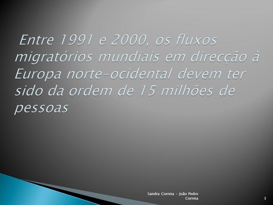 -Vantagens e desvantagens da imigração 4 Sandra Correia - João Pedro Correia