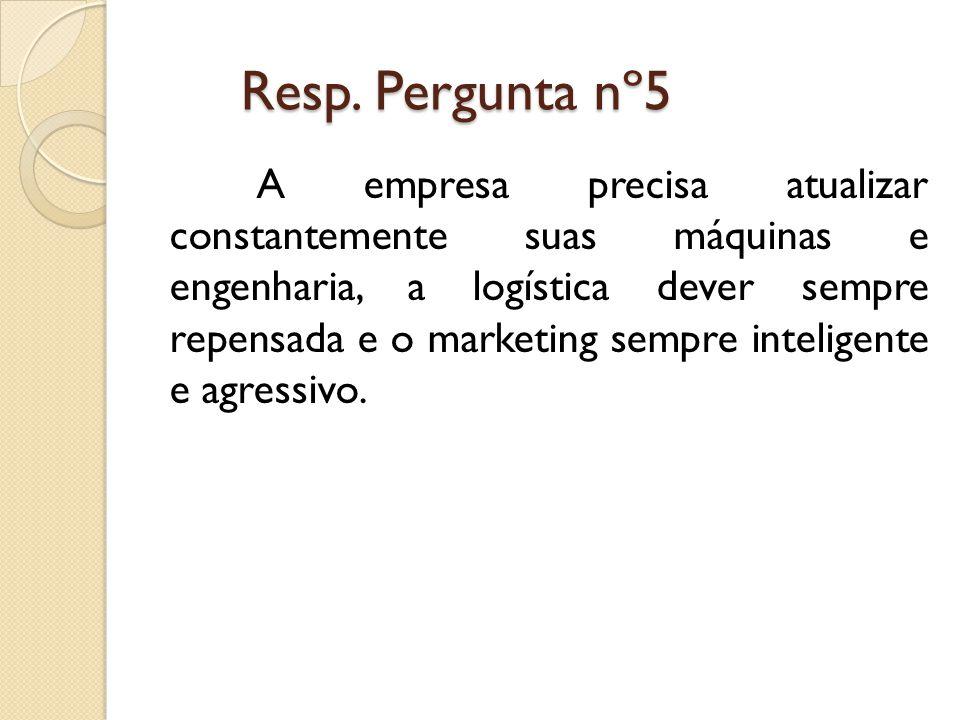Resp. Pergunta nº5 Resp.