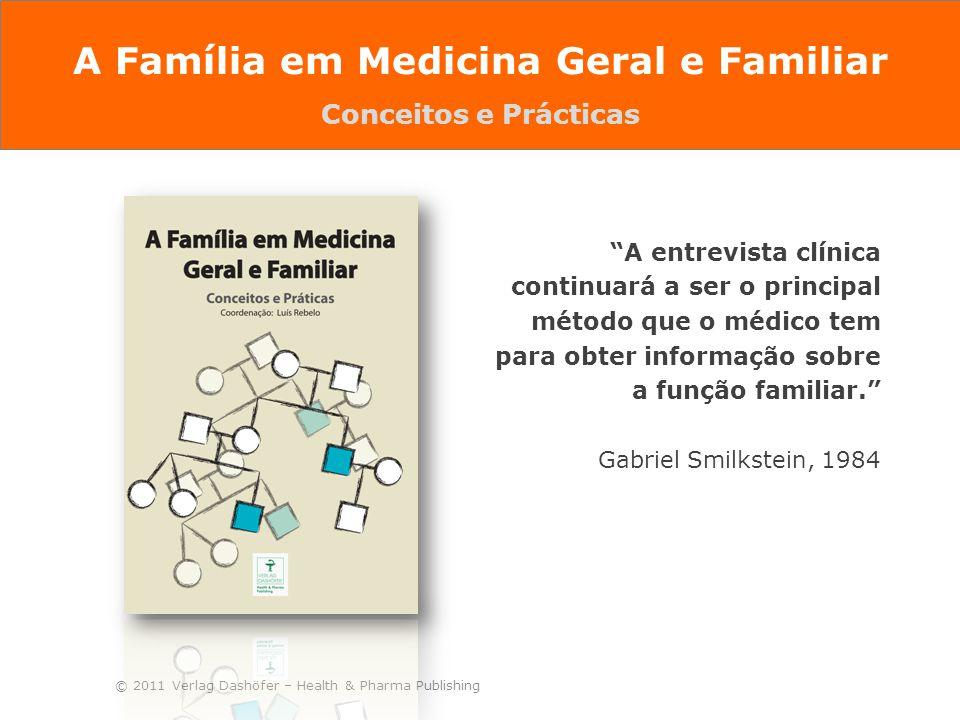 """© 2011 Verlag Dashöfer – Health & Pharma Publishing """"A entrevista clínica continuará a ser o principal método que o médico tem para obter informação s"""