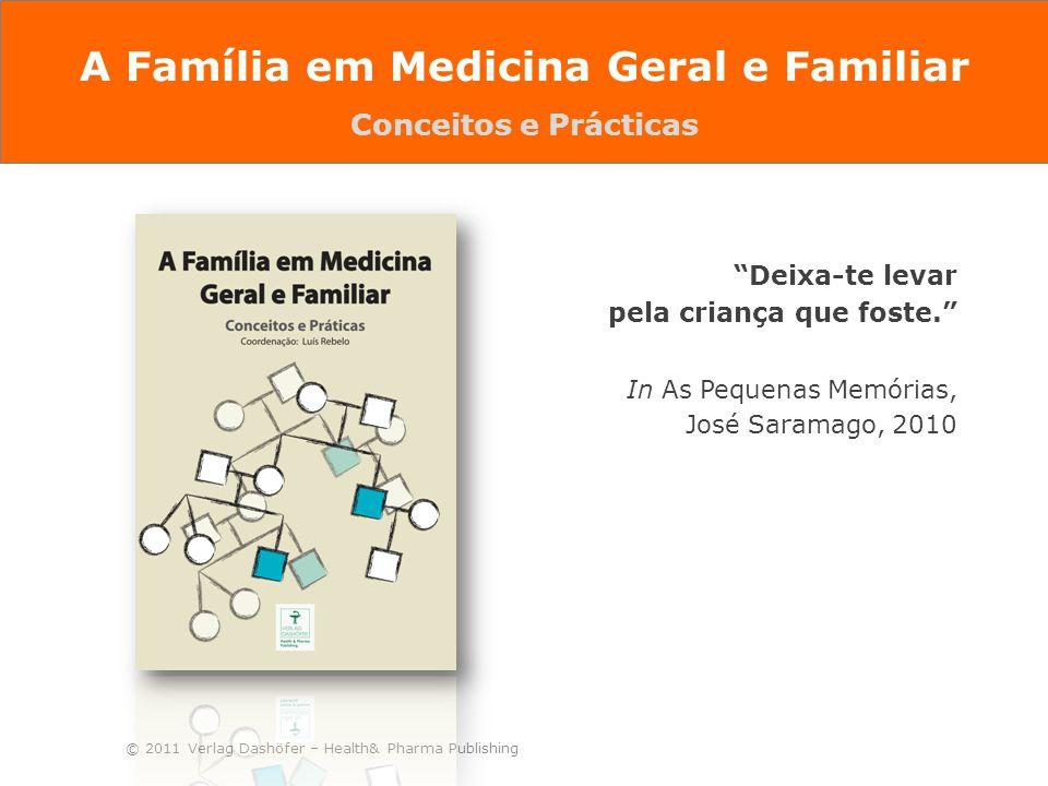 """© 2011 Verlag Dashöfer – Health& Pharma Publishing """"Deixa-te levar pela criança que foste."""" In As Pequenas Memórias, José Saramago, 2010 A Família em"""