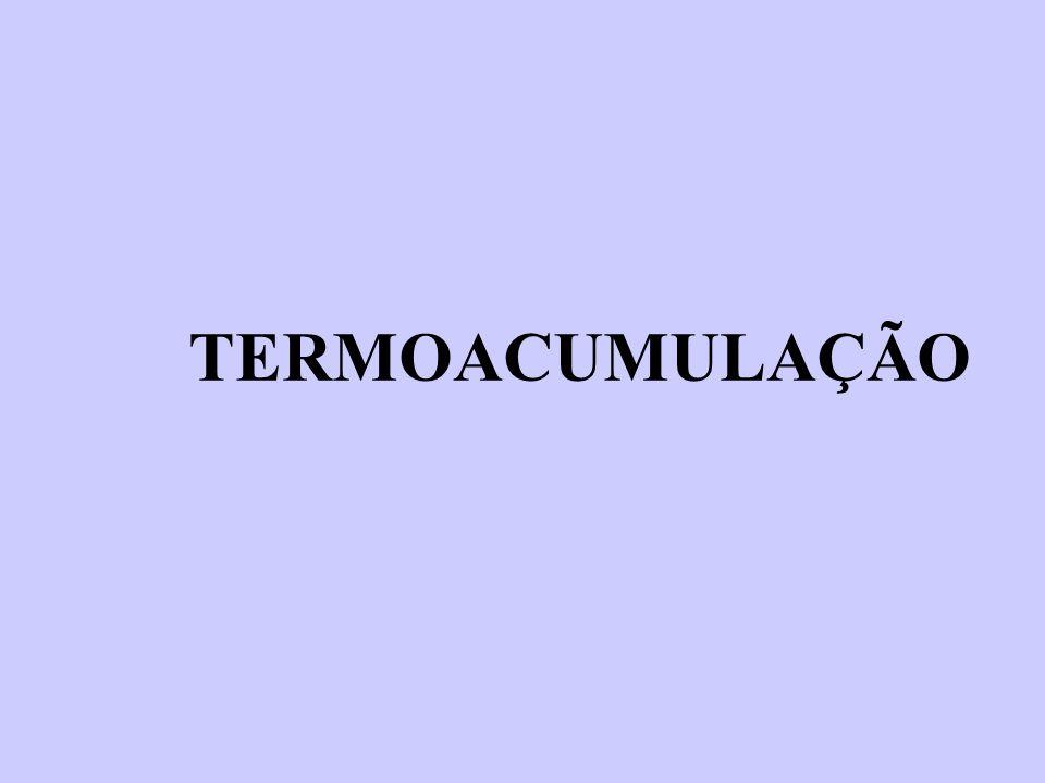 Termoacumulação é a armazenagem do frio para utilização posterior visando:  Transferência do consumo de energia do horário de ponta de carga para o horário fora de ponta;  Nivelamento de carga diminuindo a demanda.