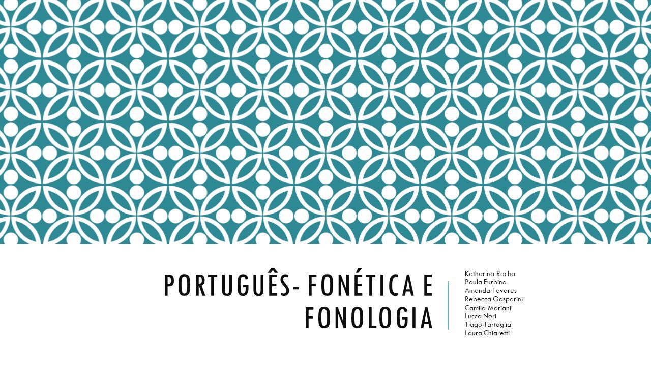 FONÉTICA FONOLOGIA Fonética é o ramo da linguística que estuda a natureza física da produção e da percepção dos sons da fala humana.