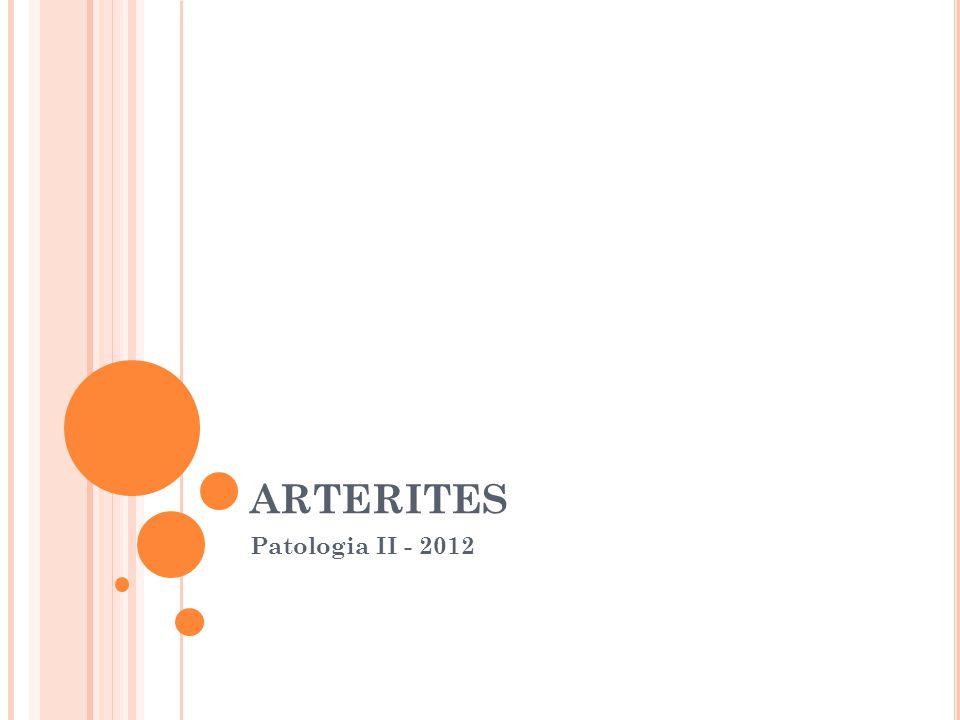 ARTERITES Patologia II - 2012