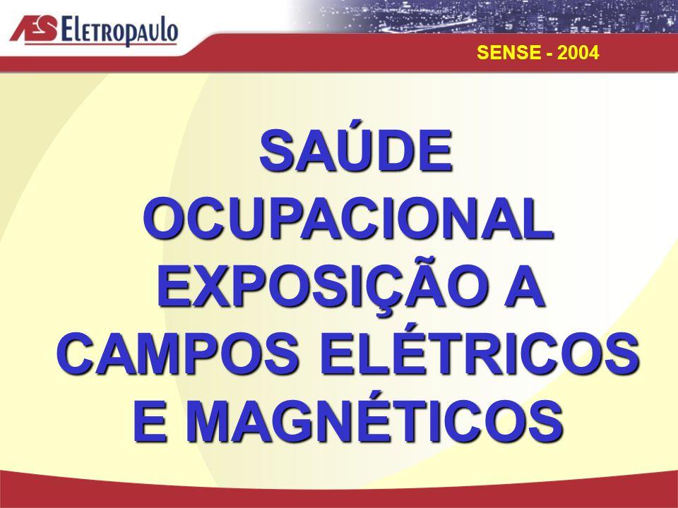 SENSE - 2004 Medidas de Proteção:  Subestações;  Linhas de Transmissão;  Transformadores;  Condutores.