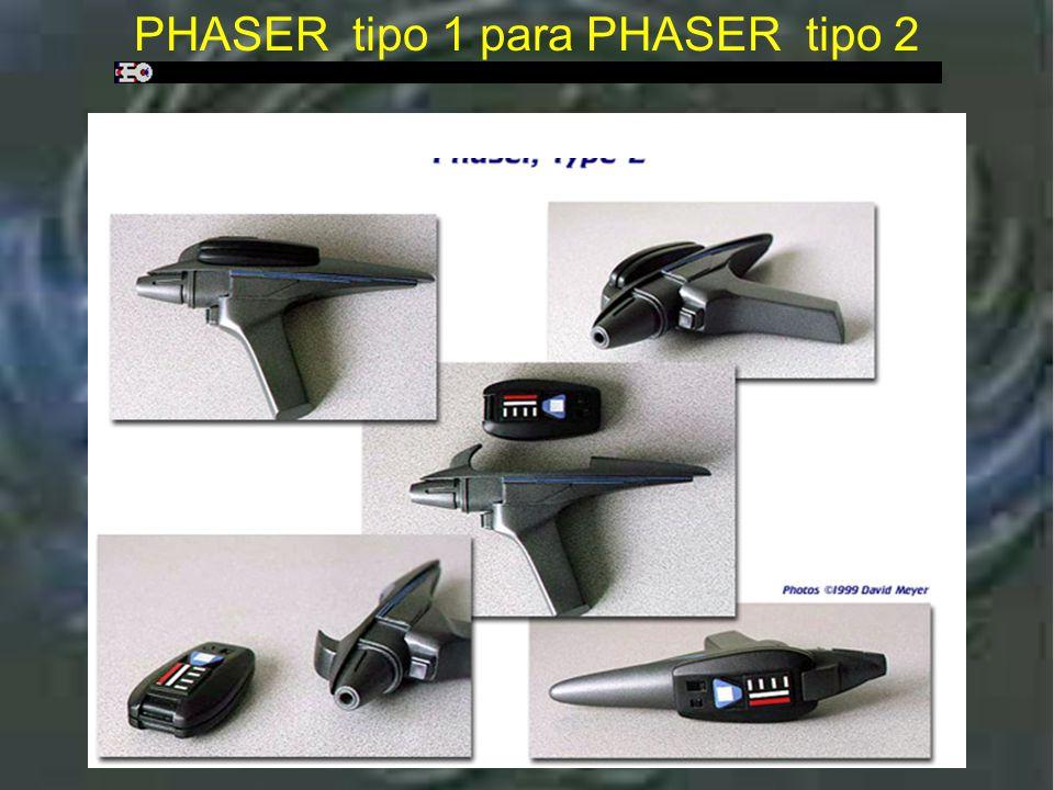 Phaser tipo 2 : Star Trek V e Star Trek VI PHASER tipo 2 : Star Trek V e Star Trek VI