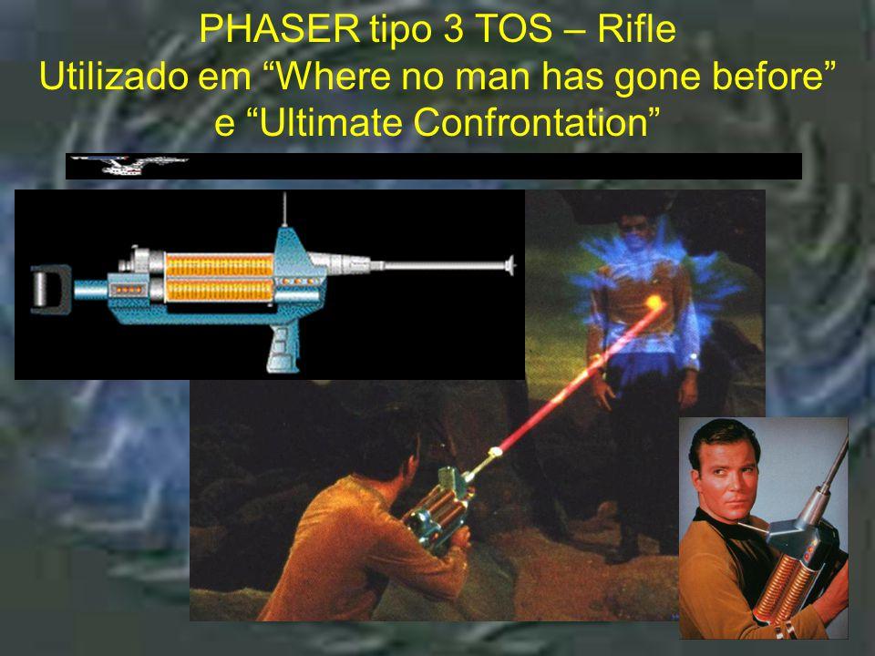 """Phaser tipo 2 : Utiliz ado em DS9, Voyag er e """"The First Contat ct"""" PHASER tipo 2 : Utilizado em DS9, Voyager e """"The First Contatct"""""""
